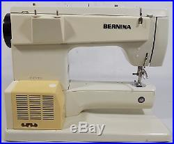 Vintage! 1970's BERNINA 830 Record Sewing Machine with Carry Case, #15007851
