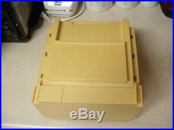 Vintage 1983 World Wide Media Sewing Craft Organizer Fold Out Carrying Case