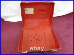 Vintage BERNINA 807 Red Hard Carrying Case Cover