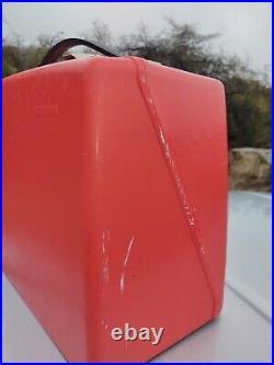 Vintage BERNINA Red Hard Carrying Case Cover