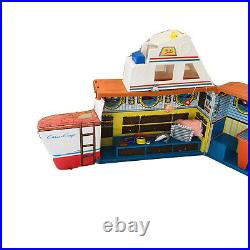 Vintage Barbie's Dream Boat Playset Chris Craft 1974 Mattel Carrying Case Xtras