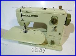 Vintage Bernina Minimatic 707 Sewing Machine, Foot Pedal And Original Carry Case