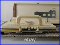 Vintage Brother Industrial Knitting Machine Kh-260 Chunky In Carry Case F20