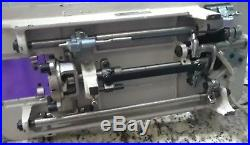 Vintage DRESSMAKER Sewing Machine Straight Stitch Zig Zag Accessories Carry Case