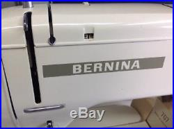 Vintage Electric Sewing Machine Bernina Minimatic 707 Foot Pedal Carry Case