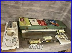 Vintage Empisal Knitmaster Model 250 Knitting Machine with carry case