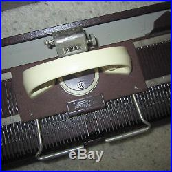 Vintage KnitKing Knitting Machine withCarry Case Made in Germany Antique Old