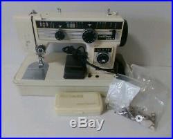 Vintage Morse Stretch Stitch Model 5401 Sewing Machine In Original Carrying Case