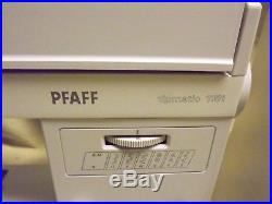 Vintage PFAFF Tipmatic 1151 Sewing Machine Hard Carry Case FULLY SERVICED 11/18