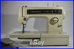 Vintage Sears Kenmore Portable Sewing Machine Model 158.12411 with Carry Case
