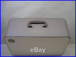 Vtg Singer 403 Special Slant Sewing Machine Wood Carry Case Good Machine Clips