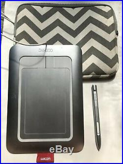 Wacom Bamboo Fun CTH-461 Craft Pen & Touch Tablet Works Great With Carrying Case