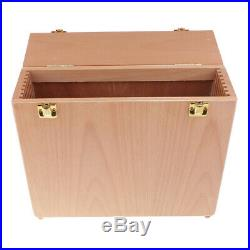Wet Canvas Carrier Carrying Case Storage Box and Table Easel with Drawer