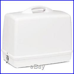 White Sewing Machine Carrying Case Container Singer Machine Storage Bag