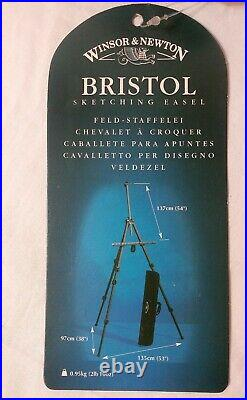 Winsor & Newton Bristol Sketching Easel with Carrying Case