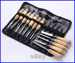 Wood Carving Chisel Set Professional Wood Carving Tools pcs Carrying Case