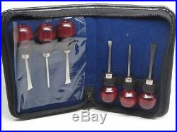 Wood Carving Tools Violin Bow Instrument Makers Carry Case Ramelson USA 117H