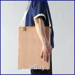 Wood Oil Paintings Carrier Carrying Case Box for Storage 8x 40x30cm Canvas