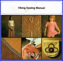 Working Vintage Viking Husqvarna 6430 Sewing Machine W Foot Pedal, Carrying Case
